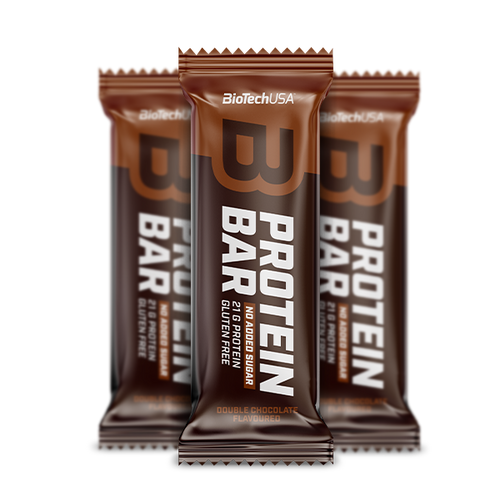 Barre protéinée Protein Bar - 70 g Double chocolate - BioTechUSA