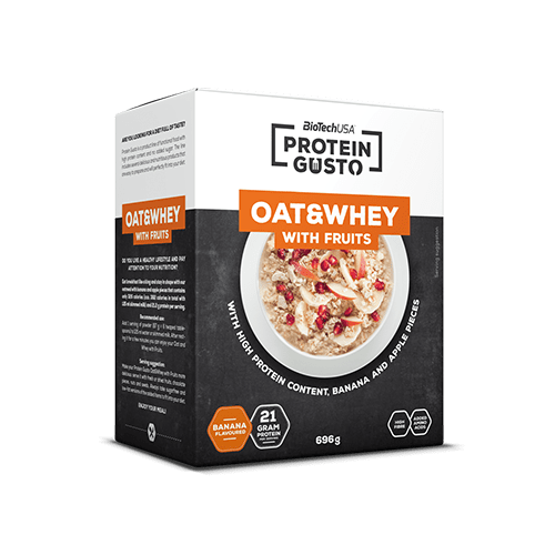 Protein Gusto - Oat & Whey with fruits - 696 g