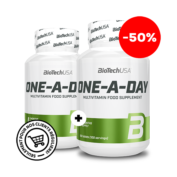 One – A – Day - One – A – Day – 50%