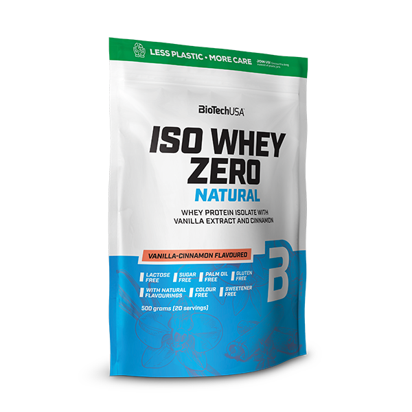 Iso Whey Zero Natural  - vanille cannelle 500 g