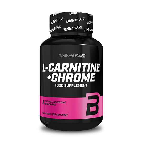 L-Carnitine + Chrome - 60 gélules