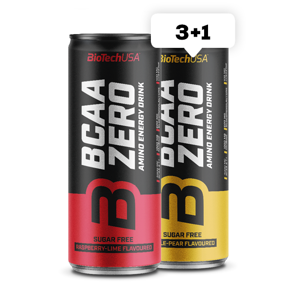BCAA Zero Energy Drink 330 ml - 3+1