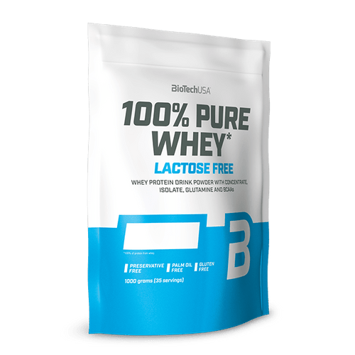 100% Pure Whey Lactose Free - 1000 g