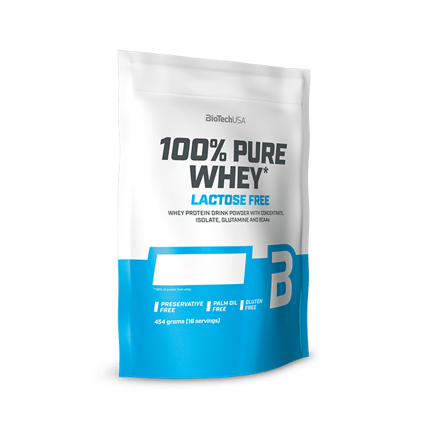 100% Pure Whey Lactose Free - 454 g