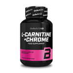 L-Carnitine + Chrome  - 60 kapsułek