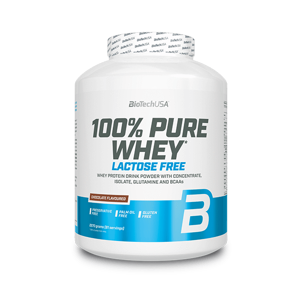 100% Pure Whey, ohne lactose - 2270 g
