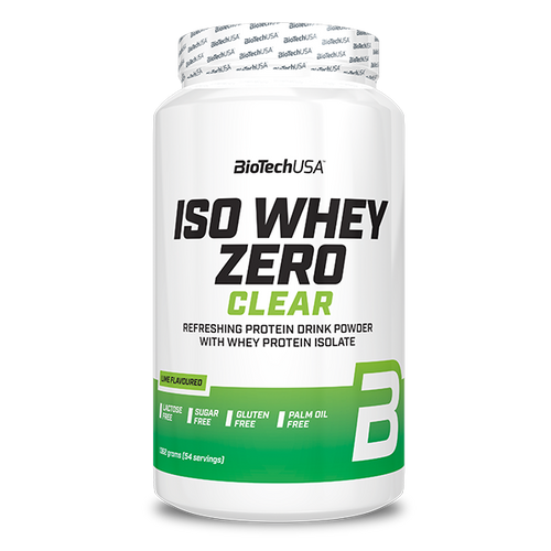 Iso Whey Zero Clear - 1362 g Limette - BioTechUSA