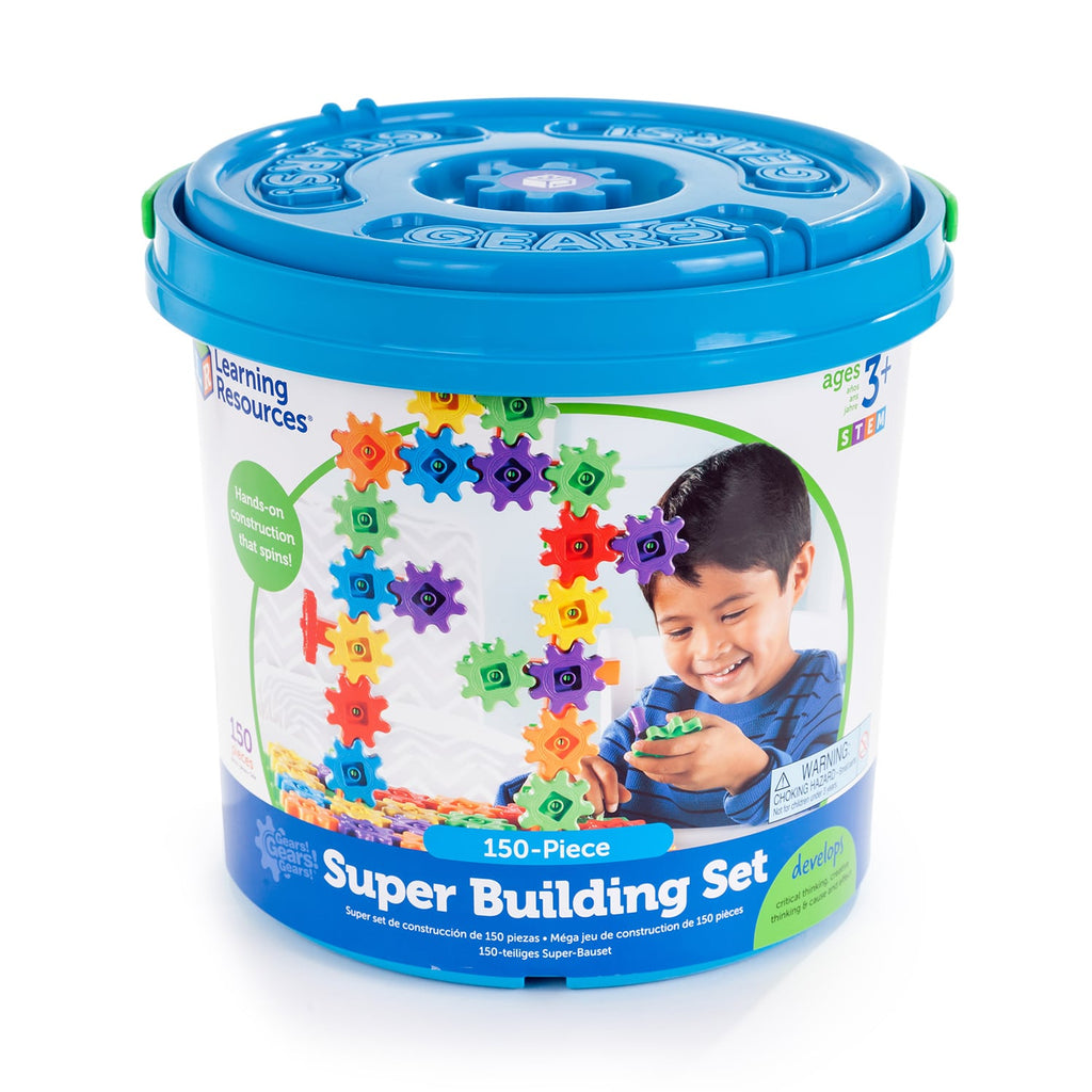 Learning Resources Gears Gears Gears® Super Building Set 150 pieces