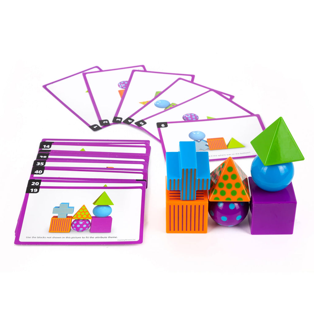 Learning Resources Mental Blox® Critical Thinking Game