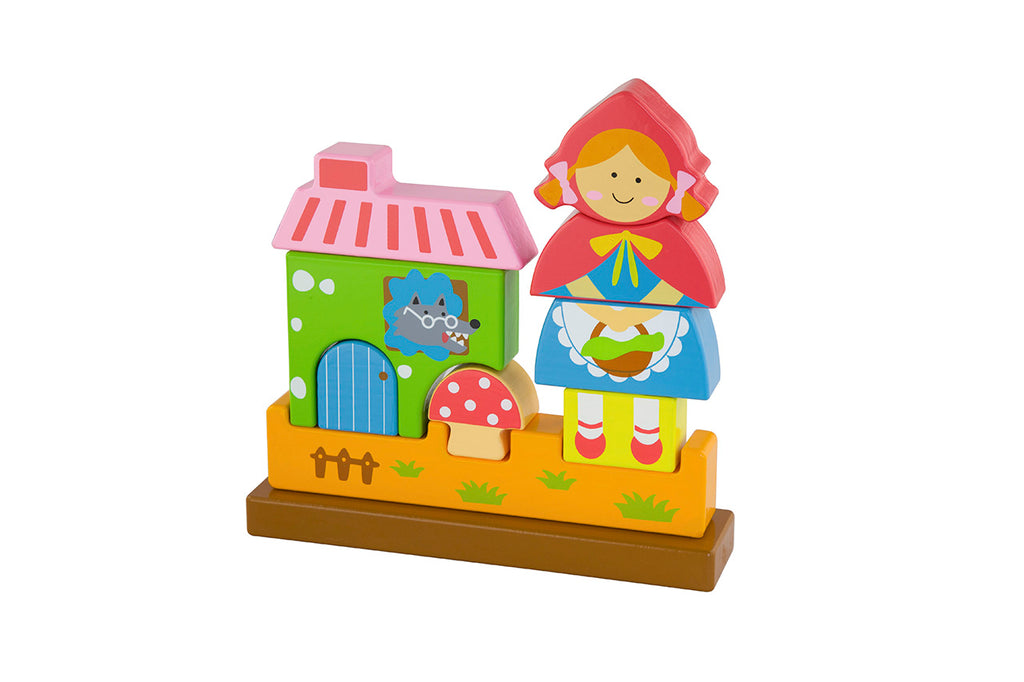 Viga 3D Magnetic Standing Puzzle - Red Riding Hood