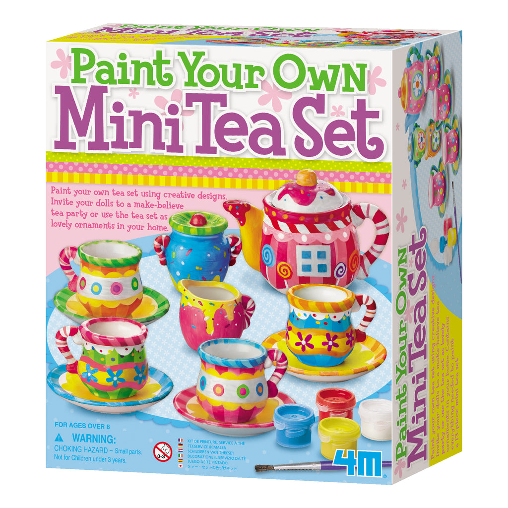 4M Mini Painting Tea Set