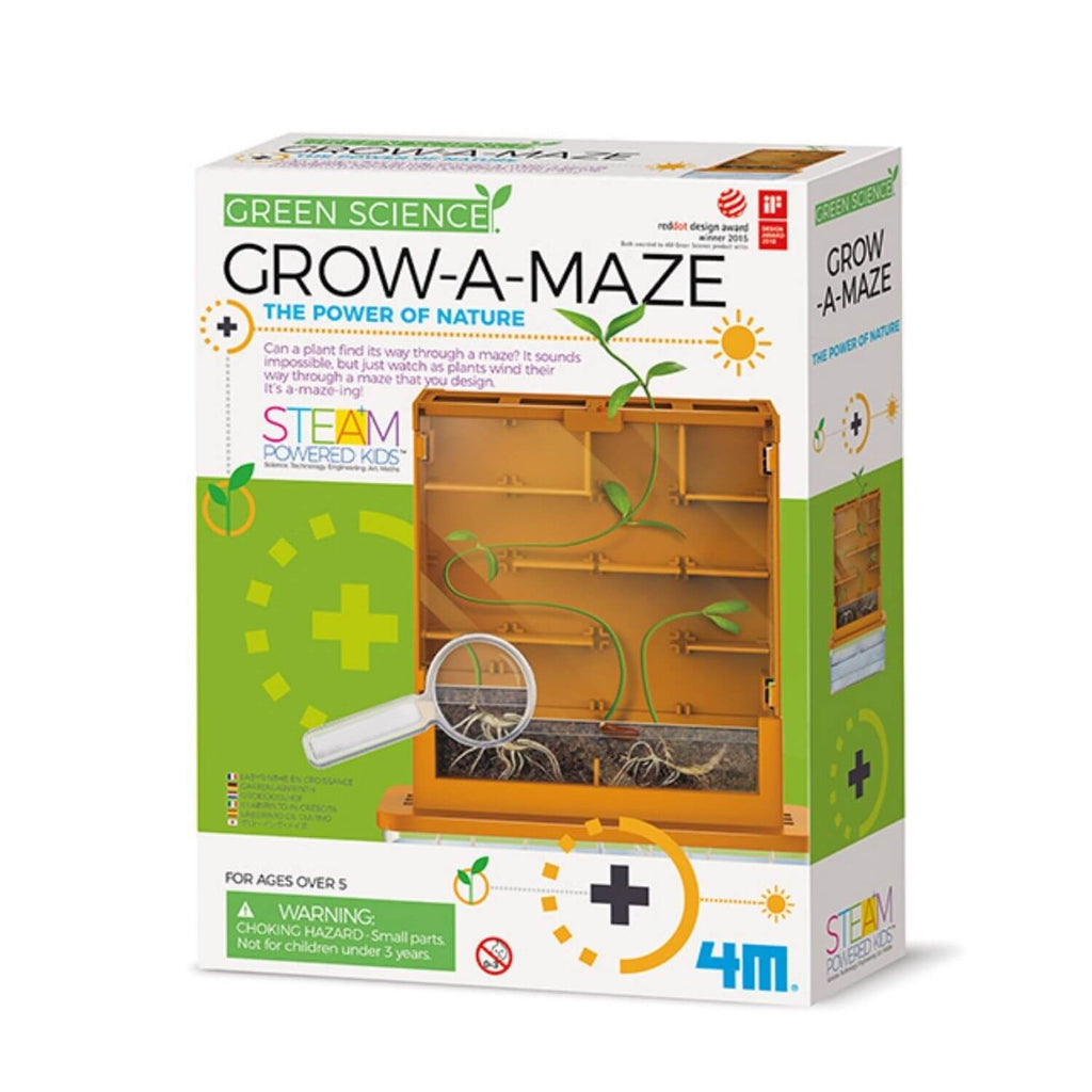 4M Kids Labs Green Sci Grow A Maze