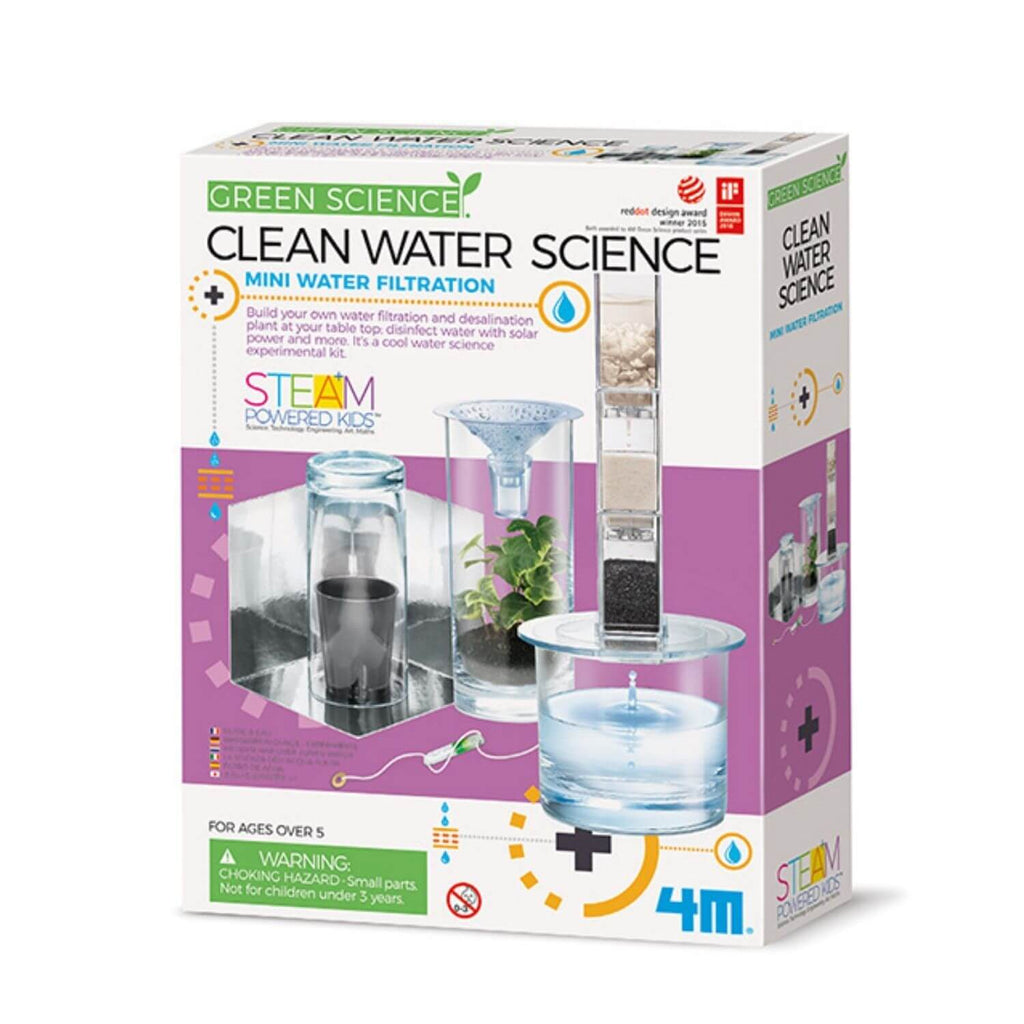 4M Kidz Labs Green Science Clean Water Science