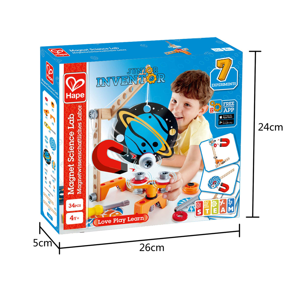 Hape Junior Inventor Magnet Science Lab