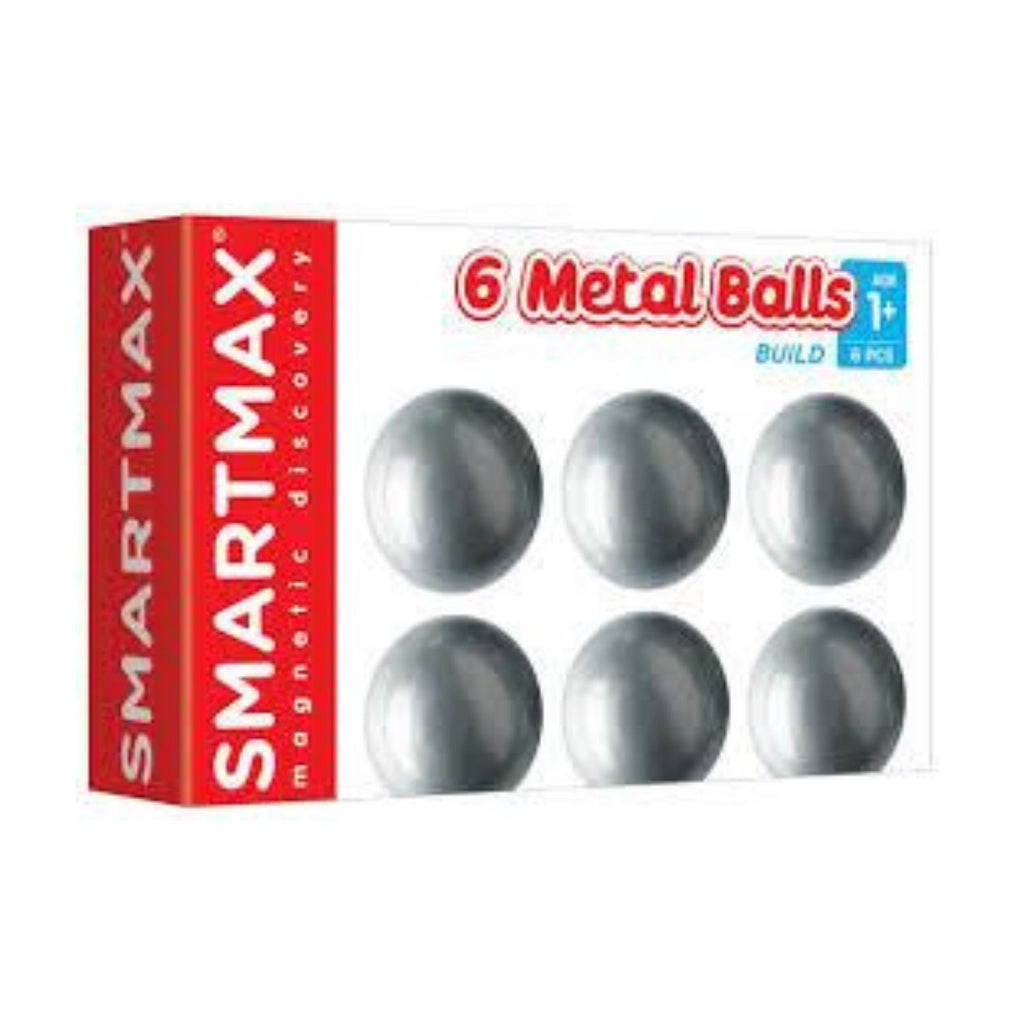 Add On Set (6 Neutral Balls) By Smartmax -Magnetic Building Add Ons