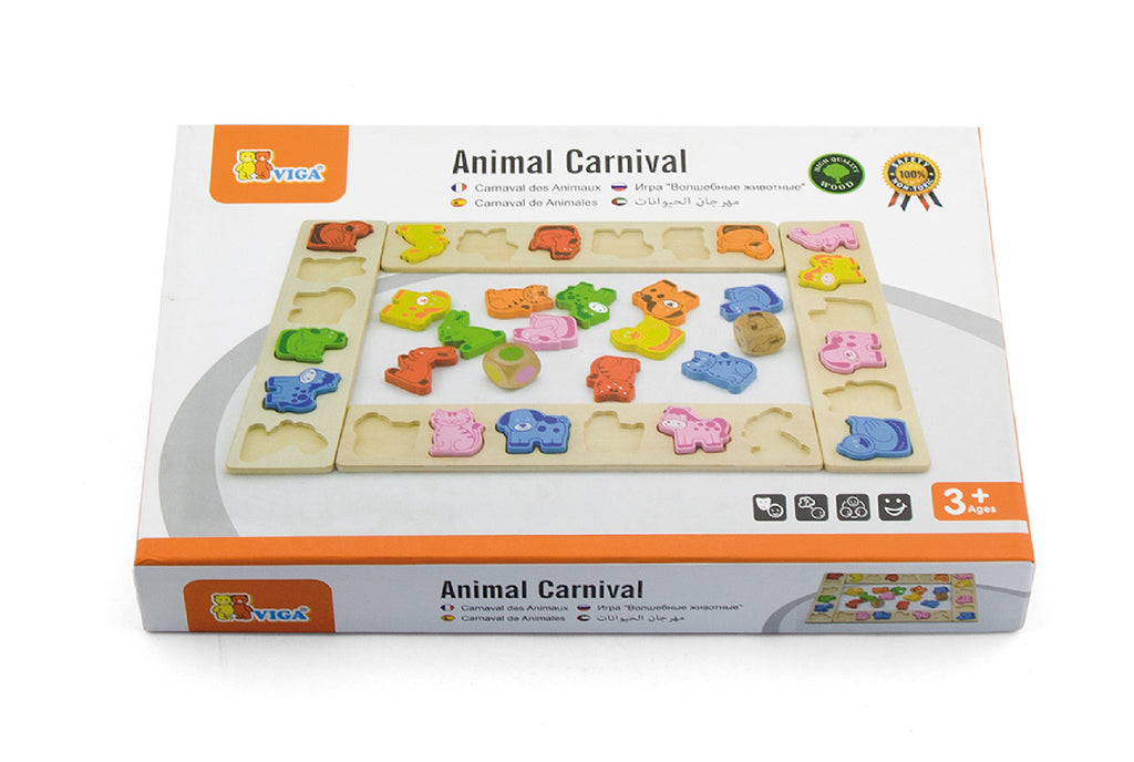 Viga Animal Carnival 5-In-1 Game