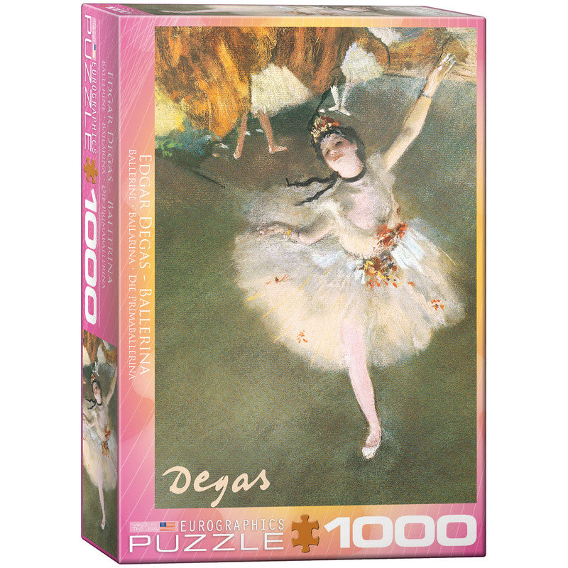 EuroGraphics Ballerina By Edgar Dagas 1000 Pieces Puzzle