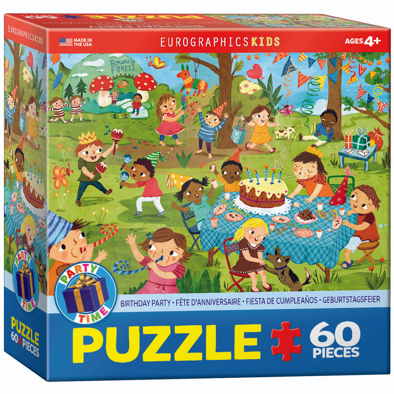 EuroGraphics Birthday Party 60Pieces Puzzle