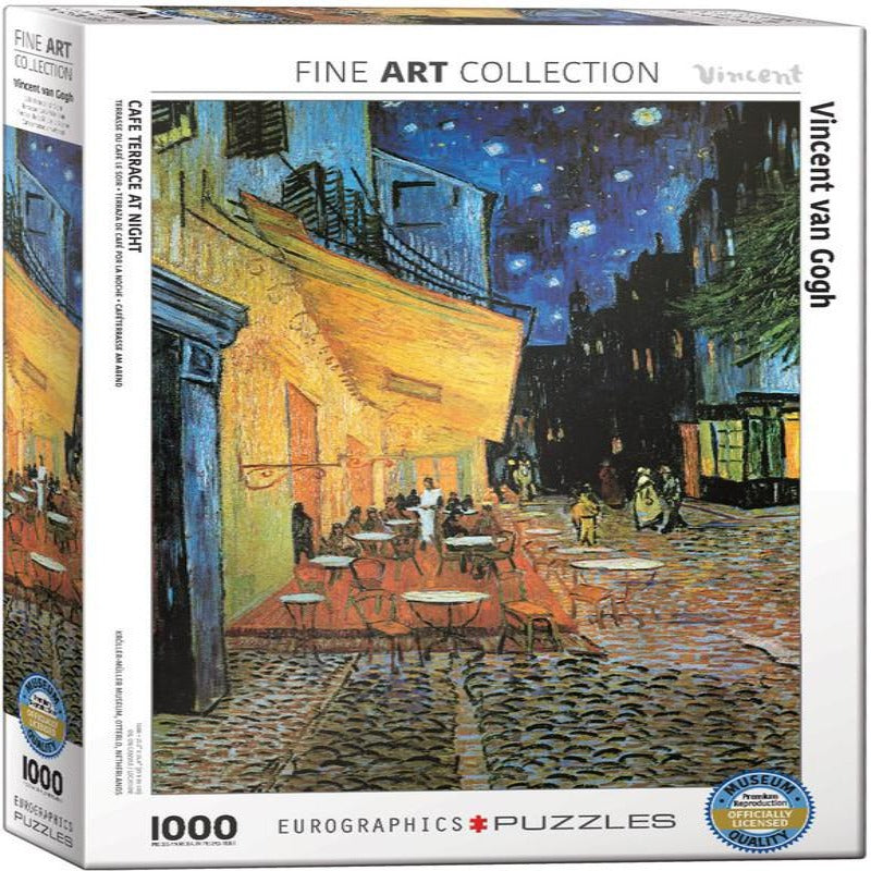 EuroGraphics Café Terrace at Night by Vincent van Gogh 1000-Piece Puzzle