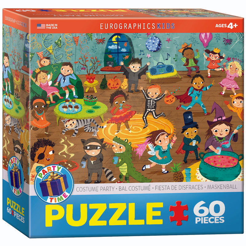 EuroGraphics Costume Party 60Pieces Puzzle