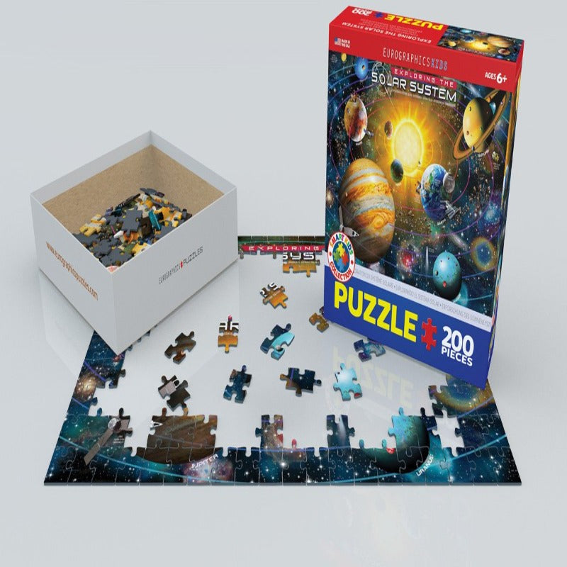 EuroGraphics Exploring The Solar System, 200-Piece Puzzle