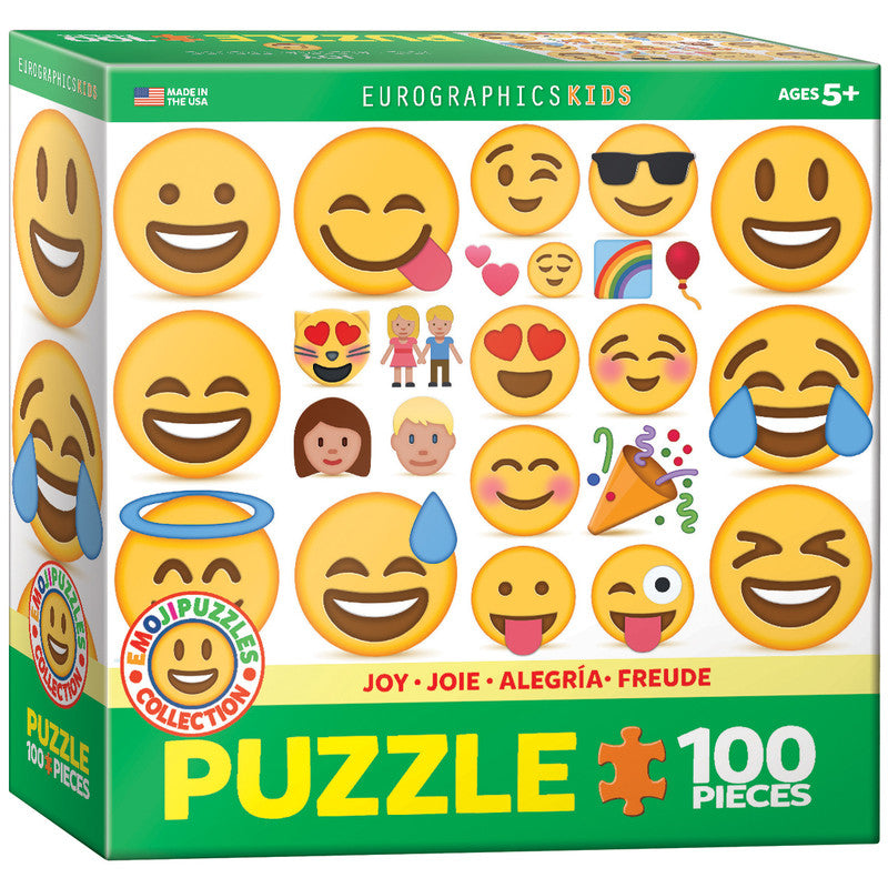 EuroGraphics Joy  - Emoji 100 Pieces Puzzle