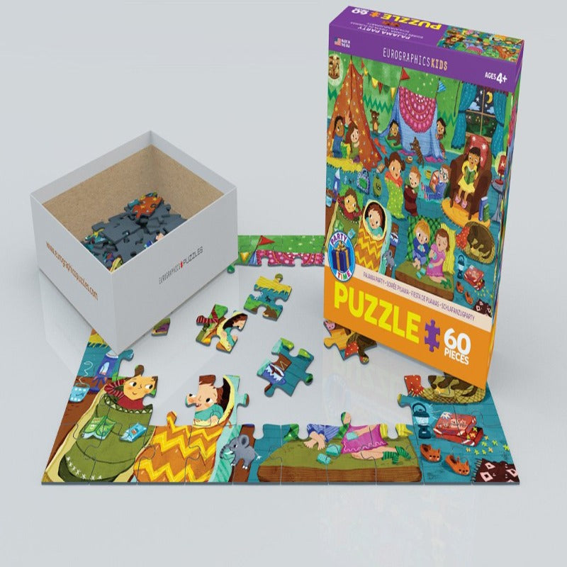 EuroGraphics Pajama Party 60-Piece Puzzle