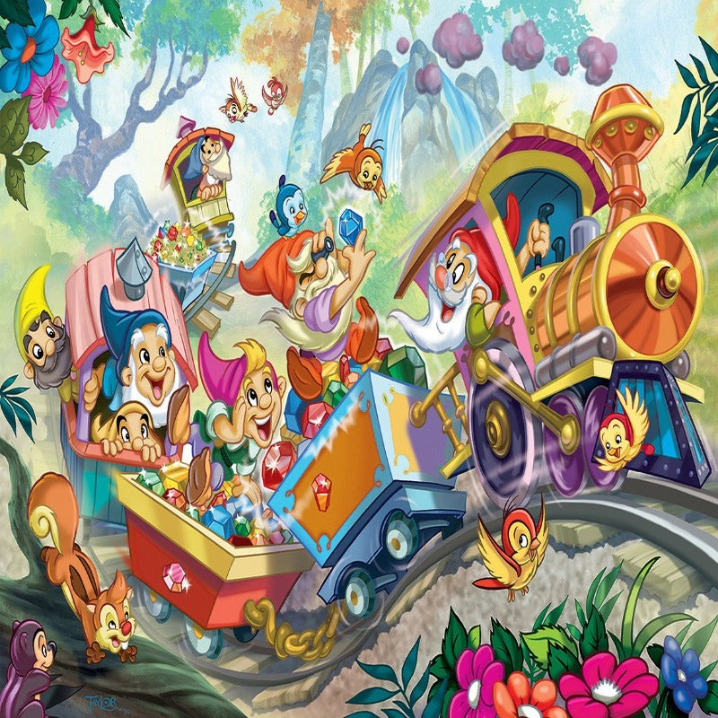EuroGraphics Snow White 35 Pieces Puzzle