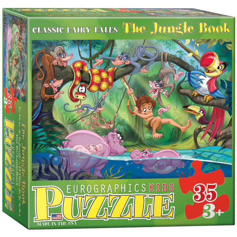 EuroGraphics The Jungle Book 35 Pieces Puzzle