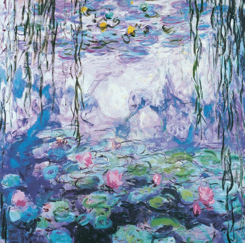 EuroGraphics Waterlilies By Claude Monet 1000 Pieces Puzzle