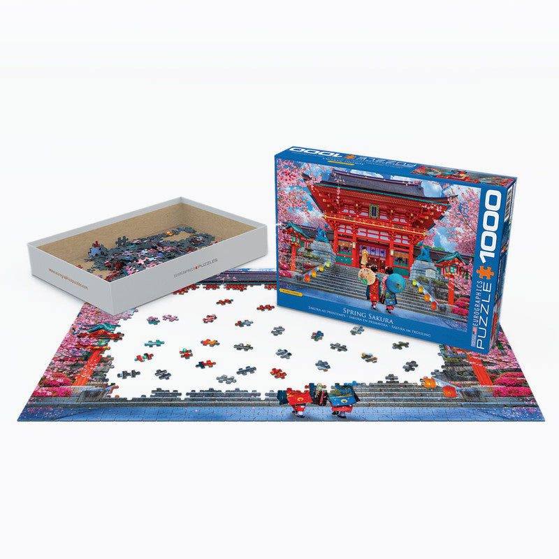 Eurographics Asia House By David Mclean- 1000 Pcs Puzzle