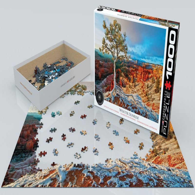 Eurographics Winter Sunrise-1000 Pcs