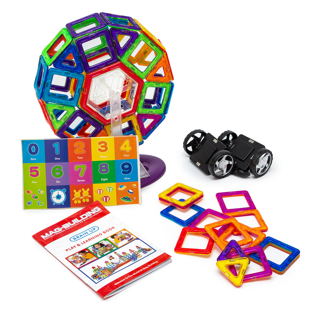 Mag Building Magnetic Building Blocks - 139 pcs