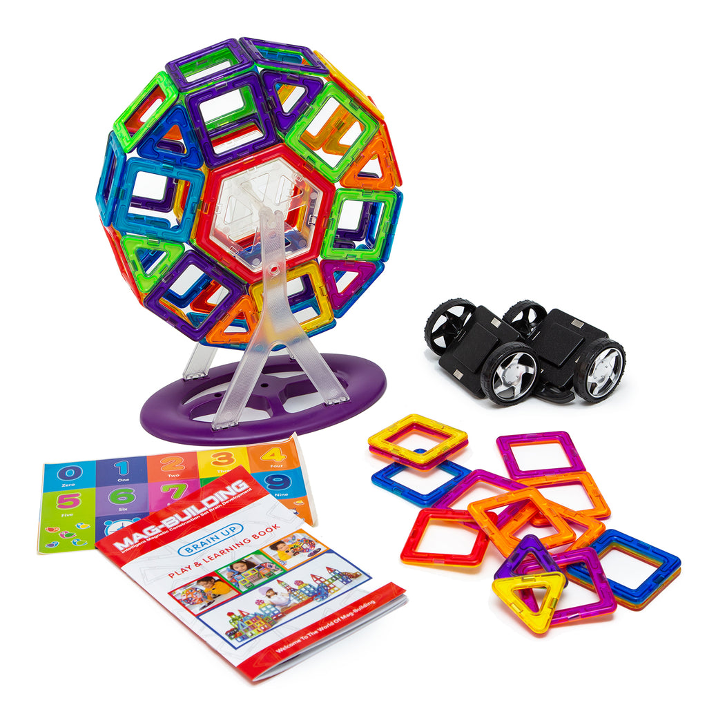 Mag Building Magnetic Building Blocks - 71 pcs