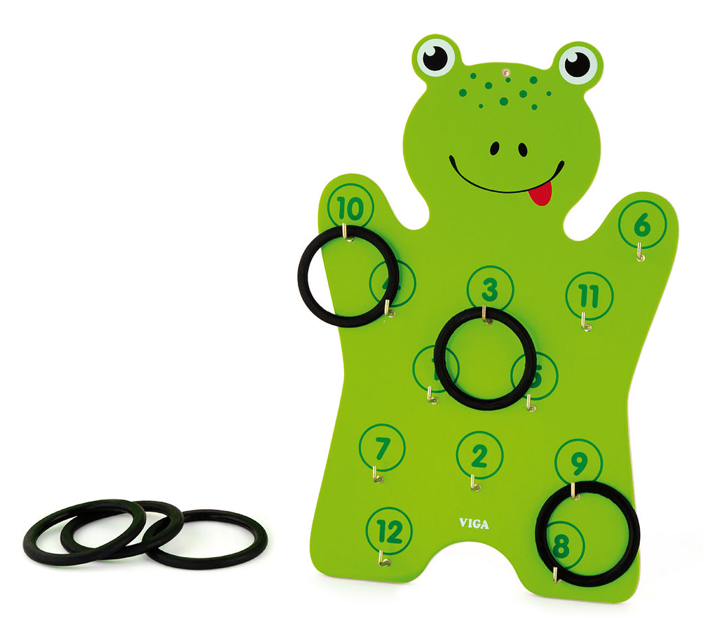 Viga Frog Ring Toss Game