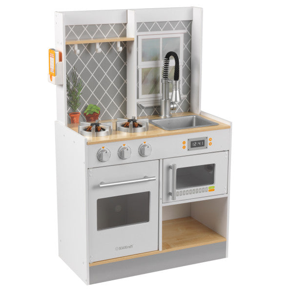 Kidkraft Let's Cook Wooden Play Kitchen