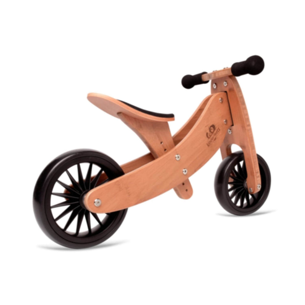 Kinderfeets 2-in-1 Tiny Tot PLUS Tricycle & Balance Bike - Bamboo 3