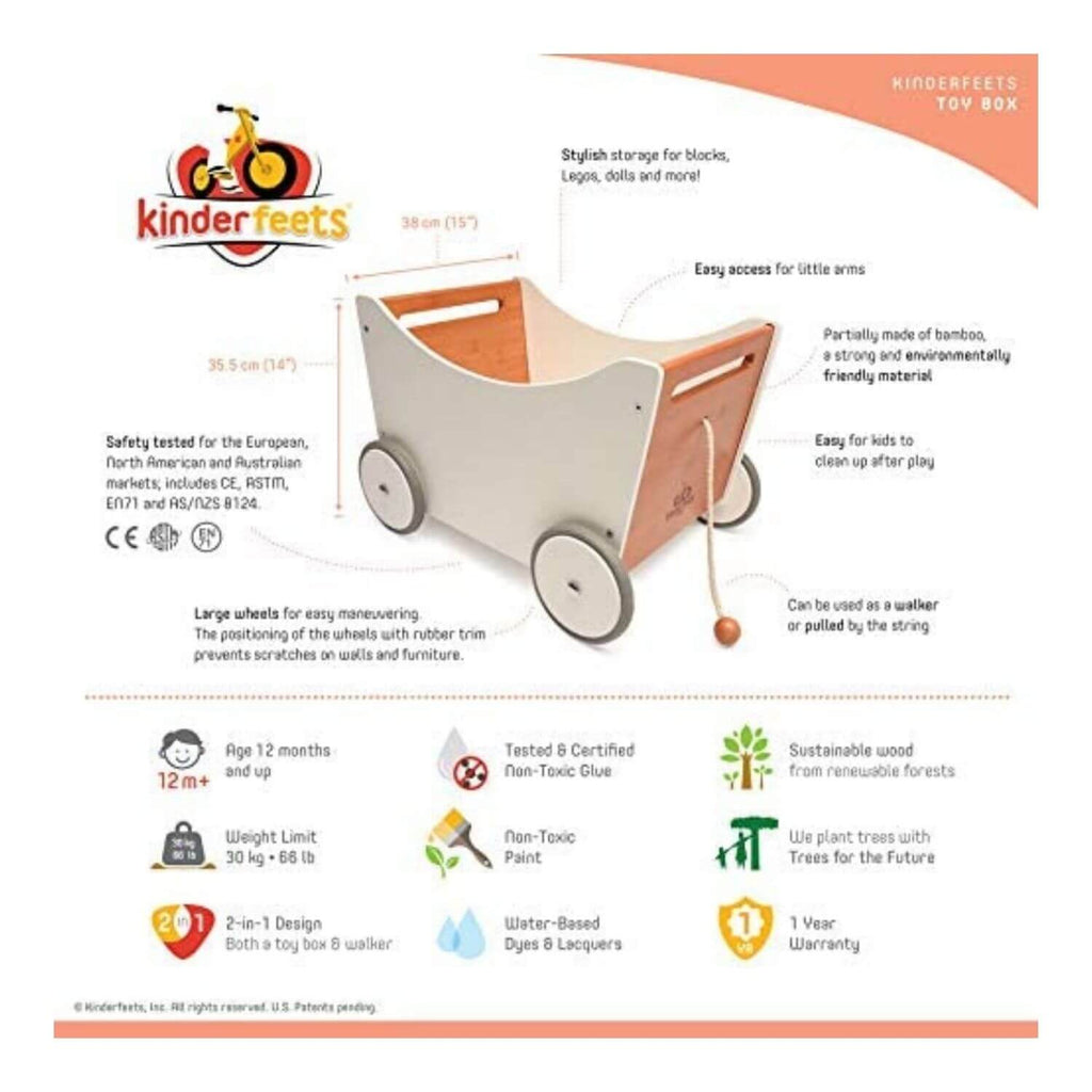 Kinderfeets Toy Box & Walker 2
