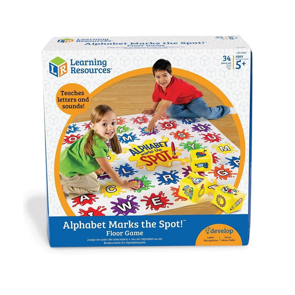 Learning Resources Alphabet Marks The Spot™ Alphabet Activity Set