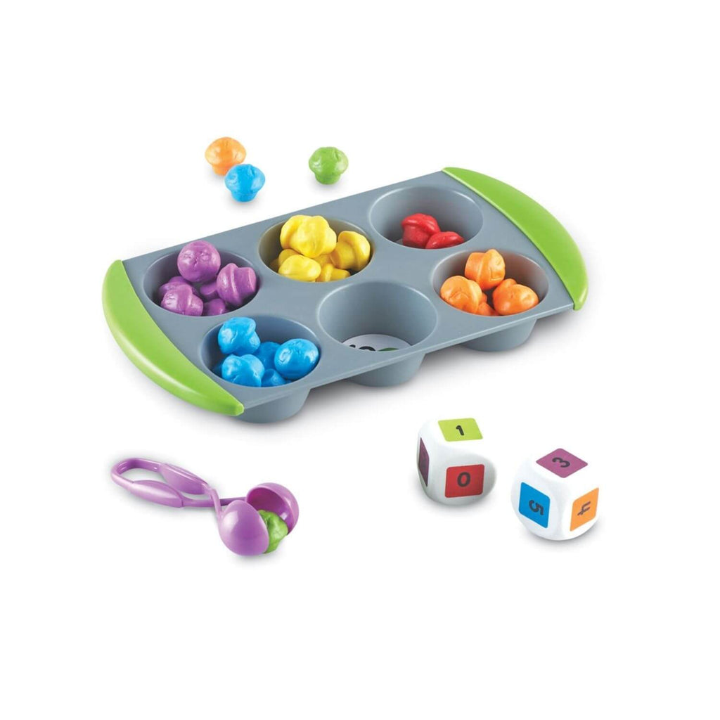 Learning Resources Mini Muffin Match Up Maths Activity Set