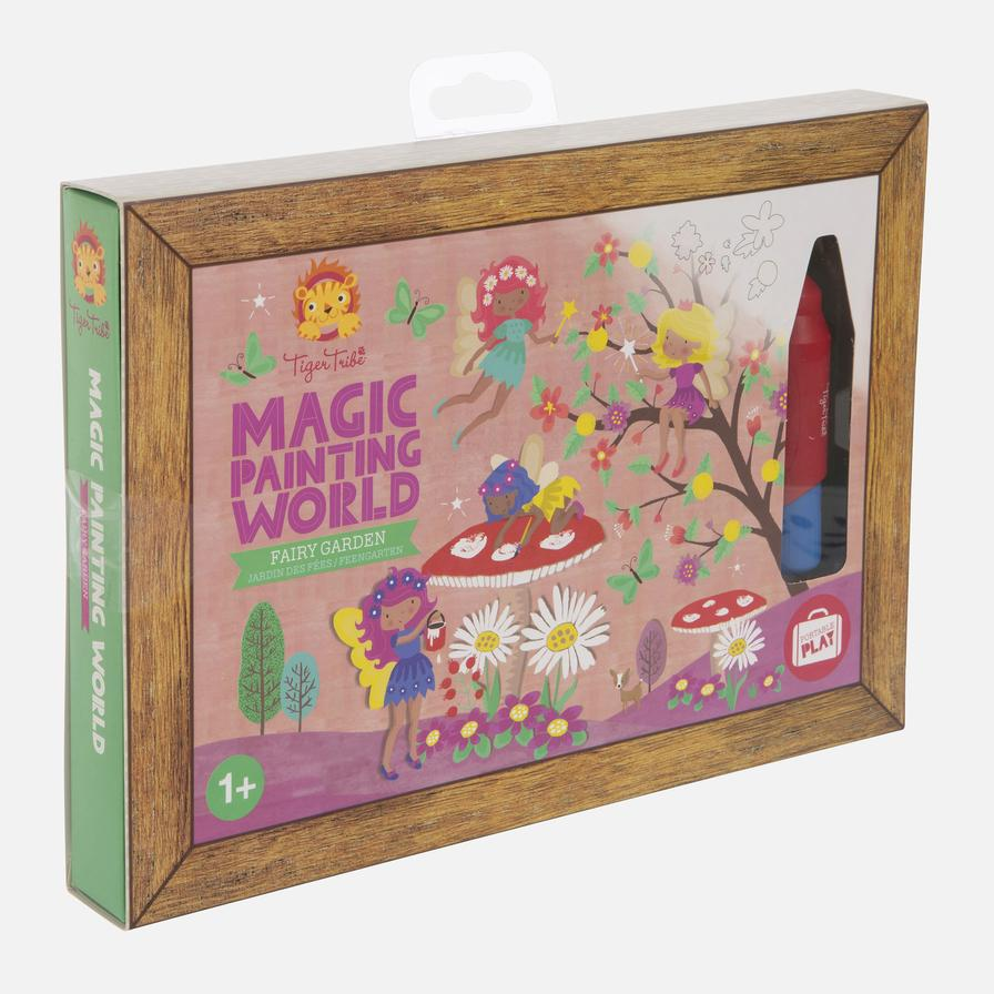 Tiger Tribe Magic Painting World - Fairy Garden