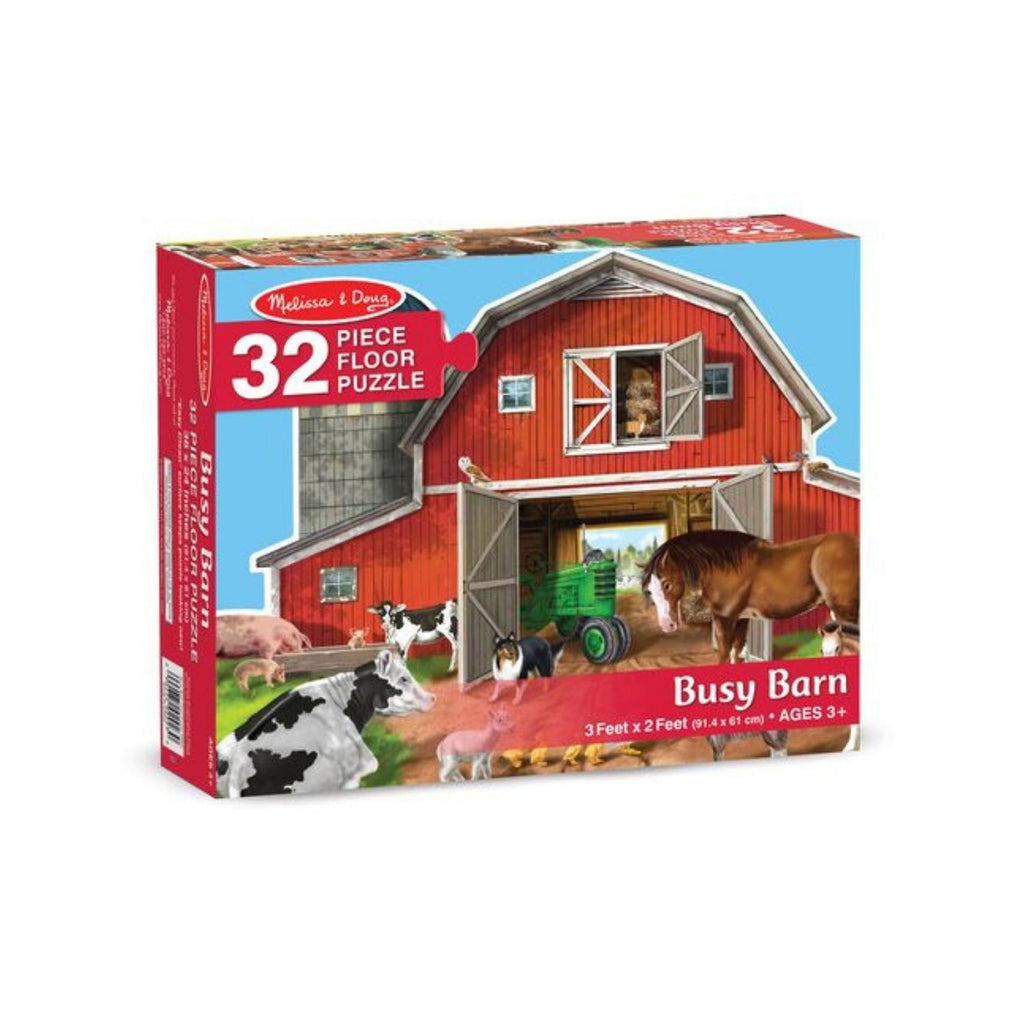 Melissa & Doug Busy Barn Floor Puzzle 4