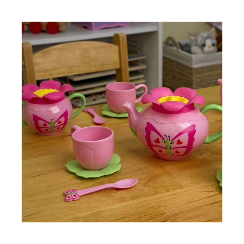 Melissa & Doug Butterfly Tea Set 4