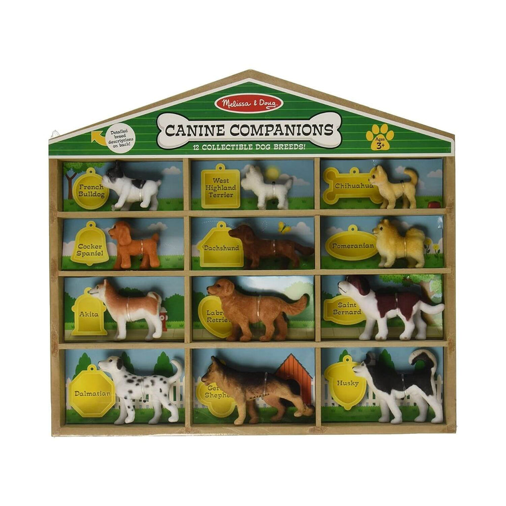 Melissa & Doug Canine Companions 12 Collectible Do Breeds! 4