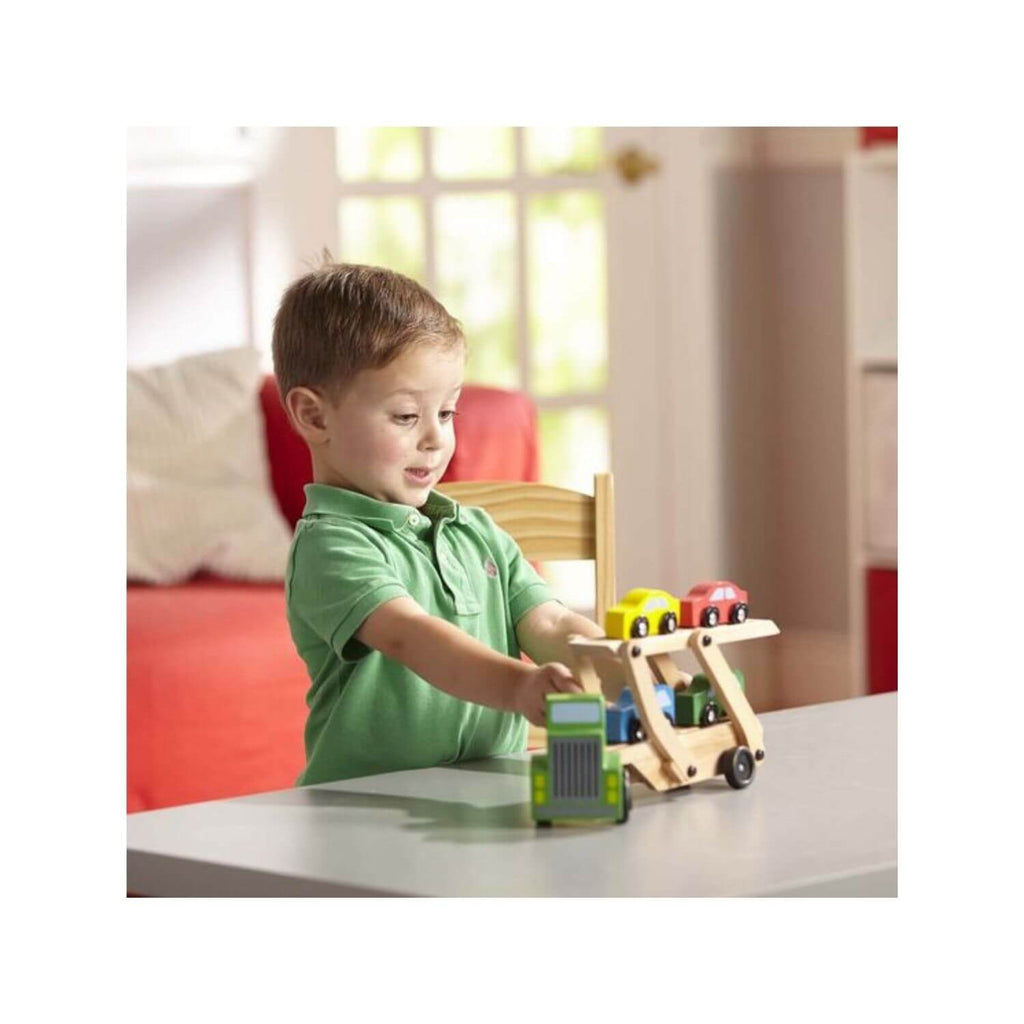 Melissa & Doug Car Carrier 2