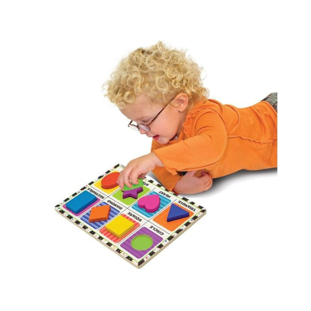 Melissa & Doug Chunky Puzzle – Shapes 2