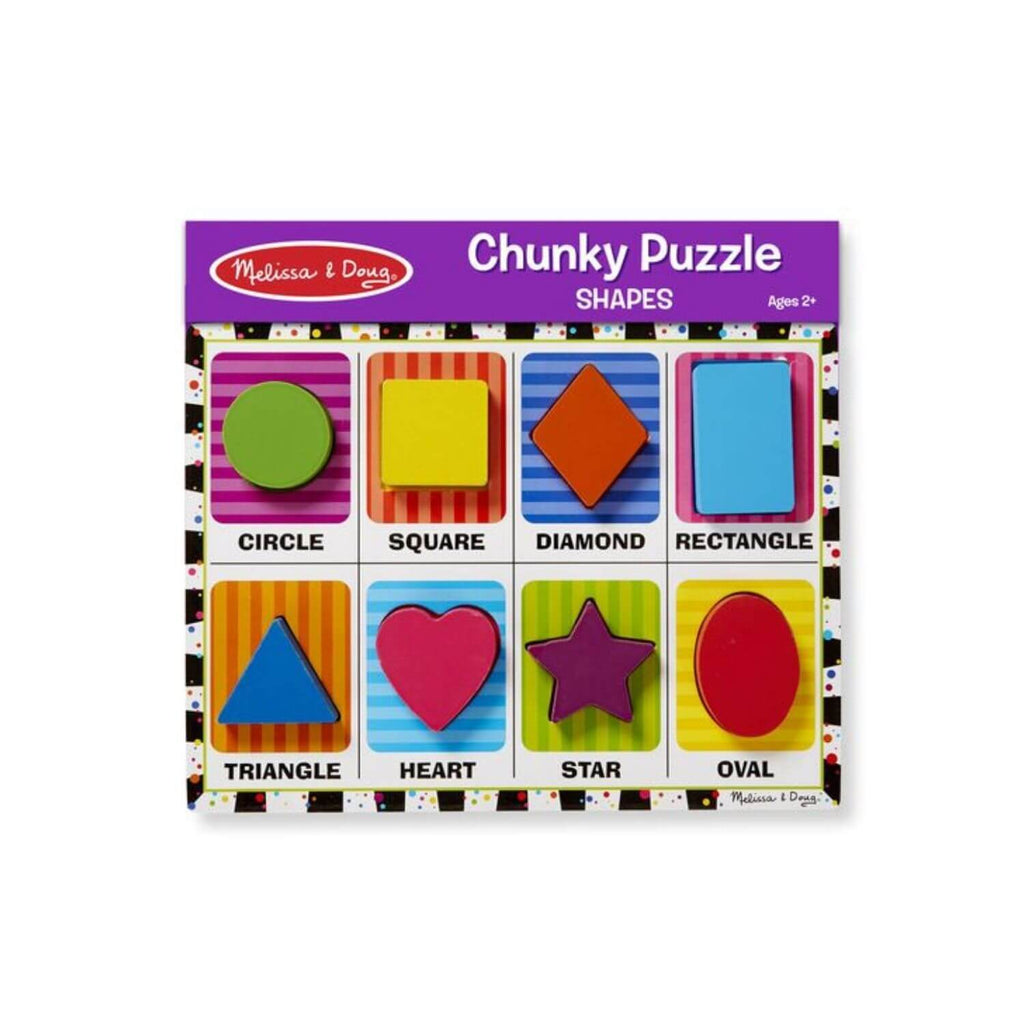 Melissa & Doug Chunky Puzzle – Shapes