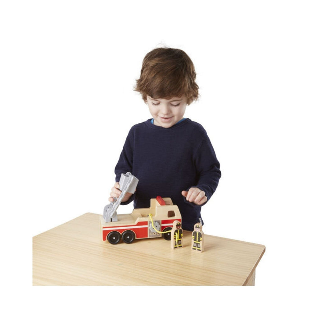Melissa & Doug Classic Toy - Fire Truck 2