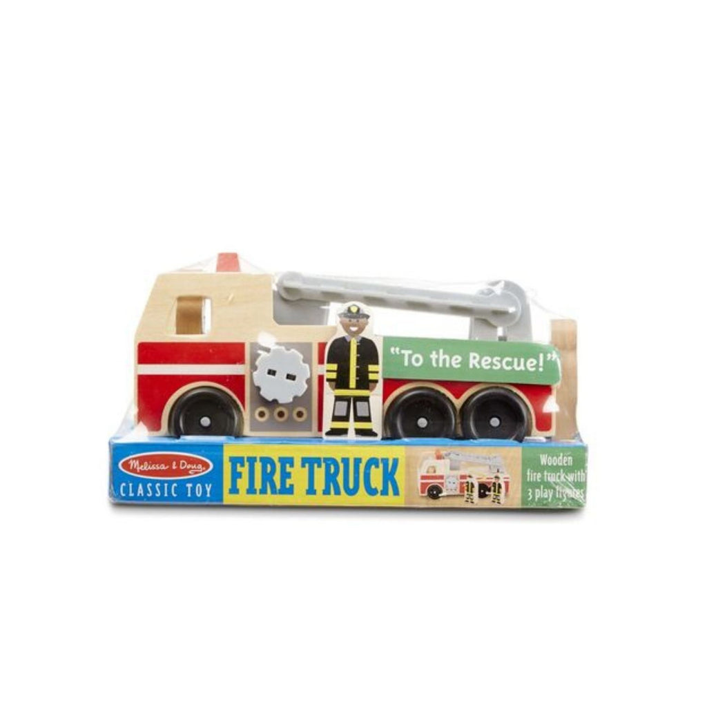 Melissa & Doug Classic Toy - Fire Truck