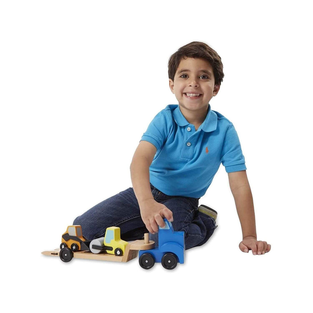 Melissa & Doug Classic Toy - Low Loader 2